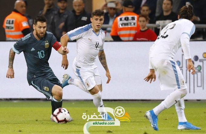 الأرجنتين تتعادل مع الأوروجواي في مباراة ودية مثيرة 29