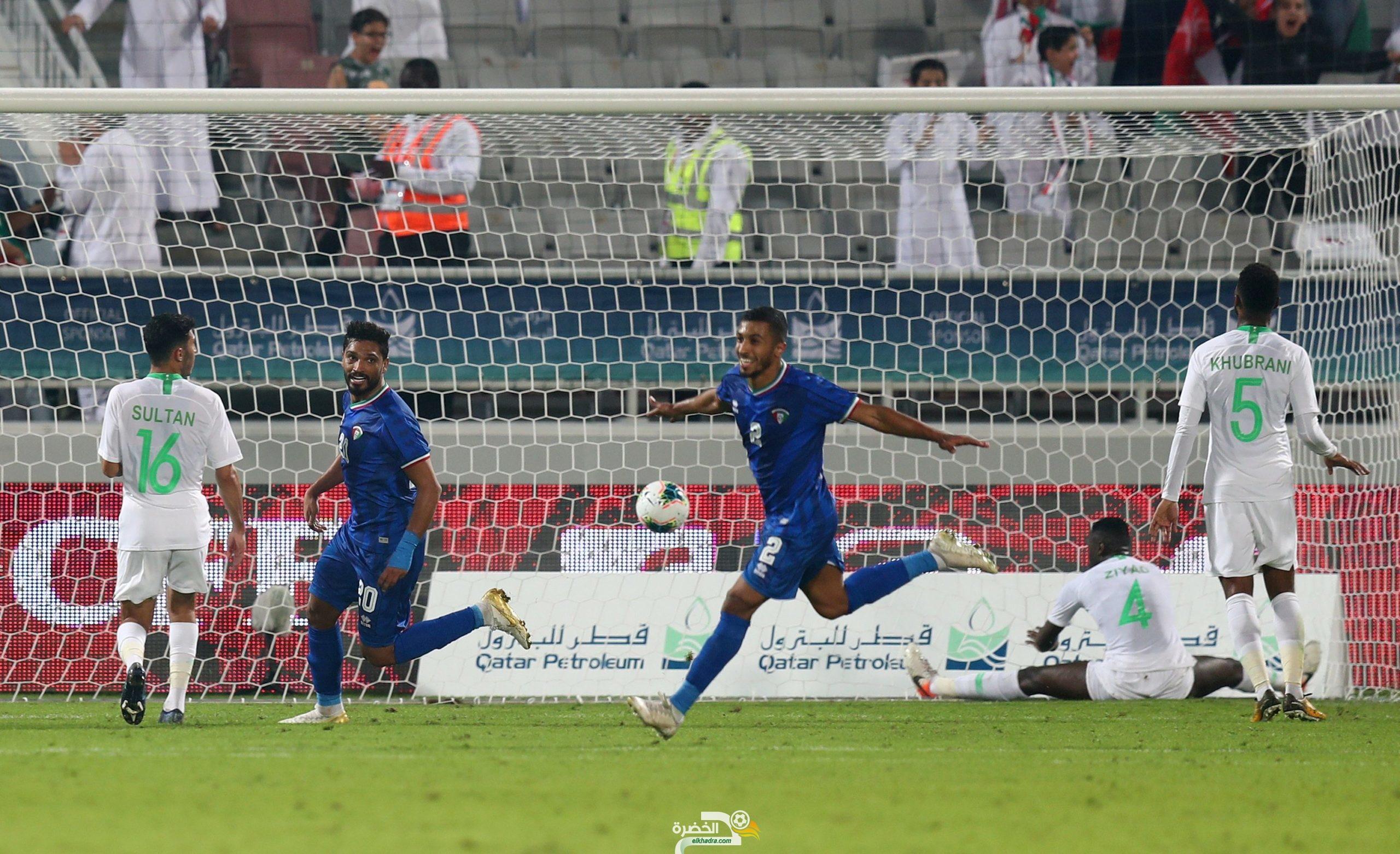 الكويت 3-1 السعودية : الأزرق يقول كلمته في كلاسيكو الخليج 27