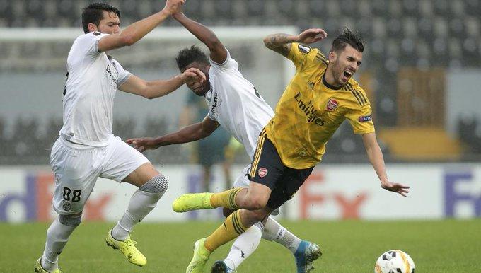 آرسنال يتعادل أمام فيتوريا جيماريش في الدوري الأوروبي 24