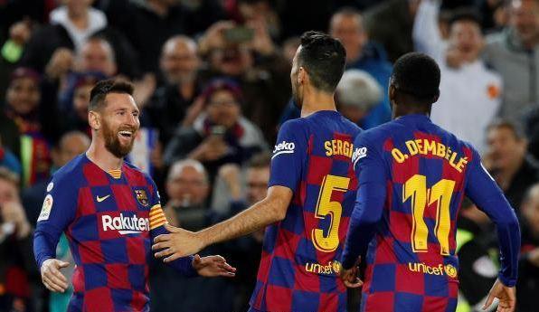الدوري الإسباني : هاتريك ميسي يقود برشلونة لإكتساح ضيفه سلتا فيغو 122