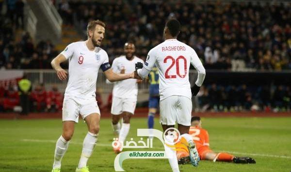 المنتخب الإنجليزي يفوز على مضيفه كوسوفا برباعية 26
