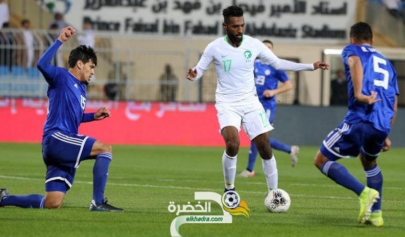 المنتخب السعودي يفرض التعادل السلبي على الباراجوي 25
