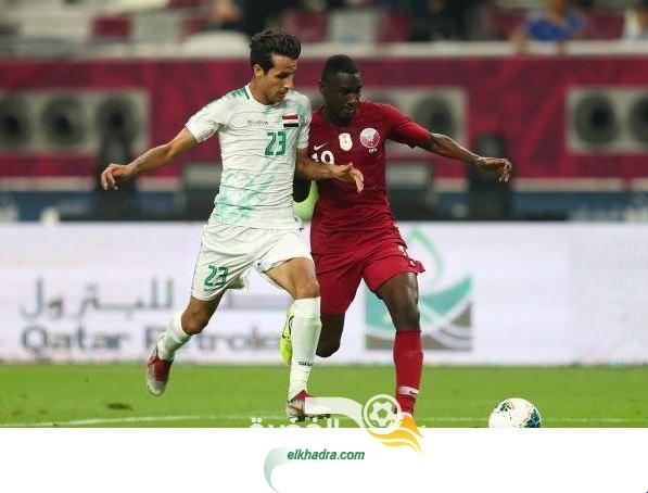 العراق 2-1 قطر : محمد قاسم يتألق ويقود أسود الرافدين لحسم المباراة 29
