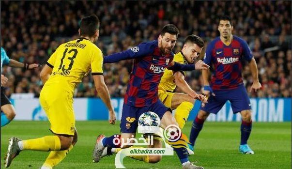 برشلونة يفوز على ضيفه بوروسيا دورتموند بثلاثية 29