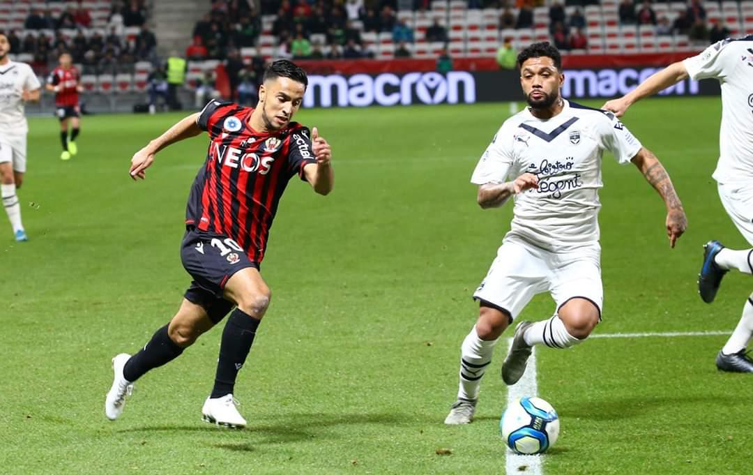 بمشاركة عطال واوناس .. نيس يتعادل مع بوردو في الدوري الفرنسي 24
