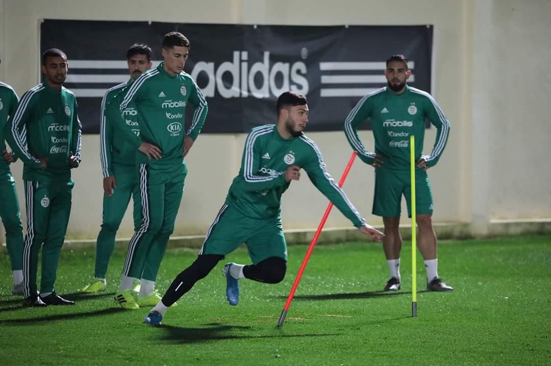 التشكيلة الاساسية للمنتخب الجزائري ضد زامبيا 114