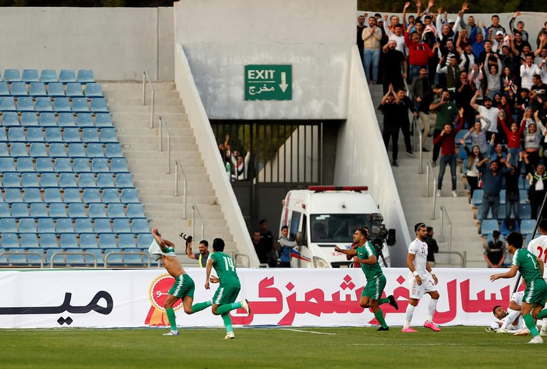 العراق يهزم إيران (2-1) بهدف قاتل في الدقيقة الأخيرة 30