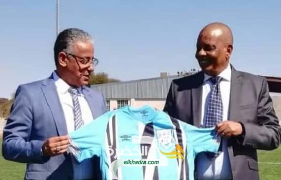 """عادل عمروش (مدرب بوتسوانا) : """"شرف كبير أن ألعب ضد المنتخب الجزائري"""" 104"""