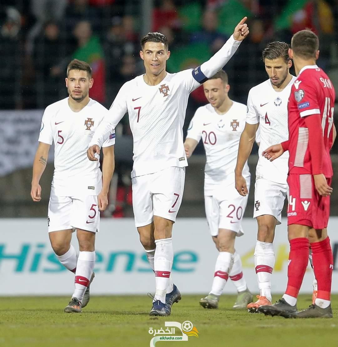 البرتغال تتأهل لأمم أوروبا 2020 بعد تفوقها على لوكسمبرج بهدفين نظيفين 101