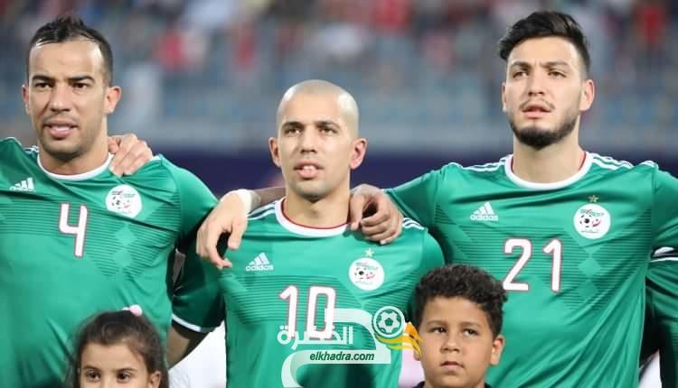 المنتخب الوطني يرتدي الزي الأخضر في مباراة اليوم أمام بوتسوانا 30