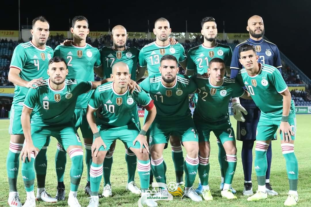 أرقام وإحصائيات المنتخب الجزائري لكرة القدم في عام 2019 24