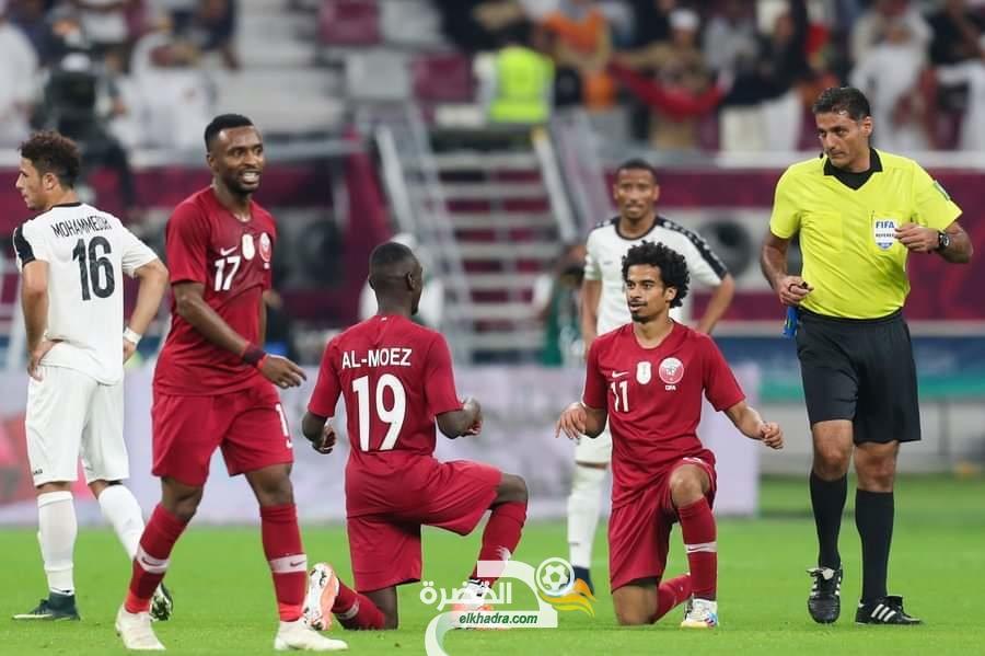قطر تفوز بنتيجة 6-0 أمام اليمن في الجولة الثانية من كأس الخليج 26