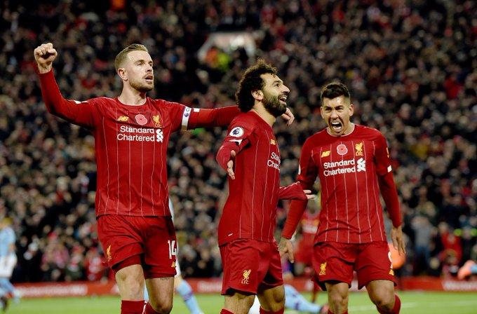 ليفربول يعزز صدارته للدوري الإنجليزي بالفوز على مانشستر سيتي بثلاثية 118