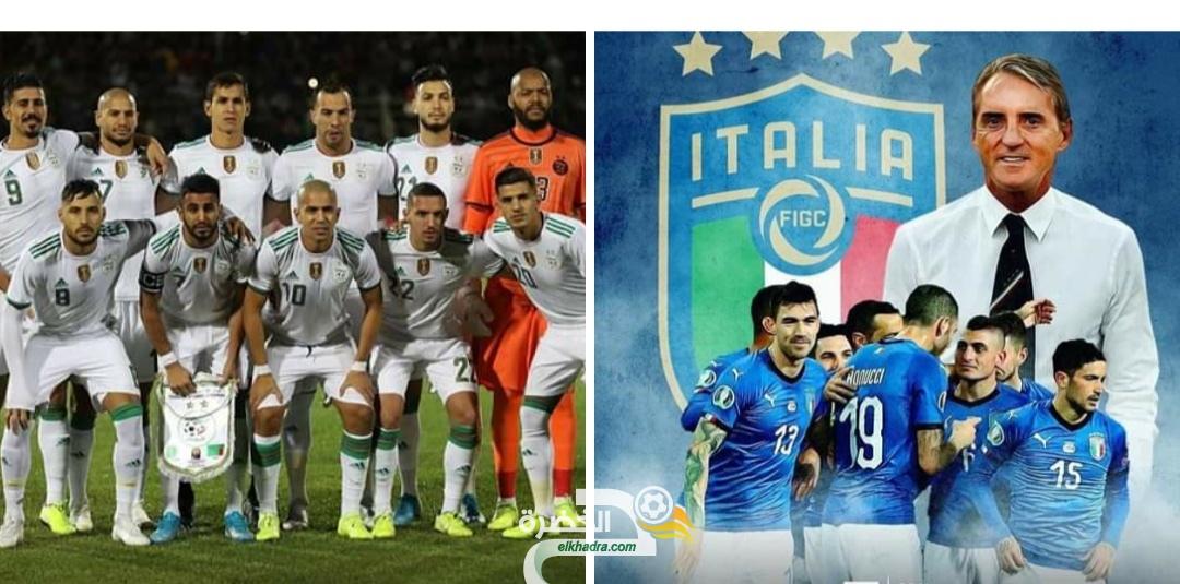 زطشي: الجزائر ستواجه إيطاليا وديا  27