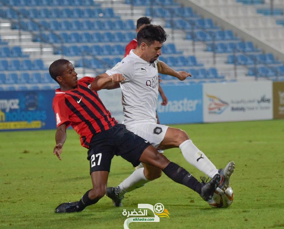 بغداد بونجاح يسجل ثنائية في فوز السد على الريان ضمن كأس نجوم قطر 25
