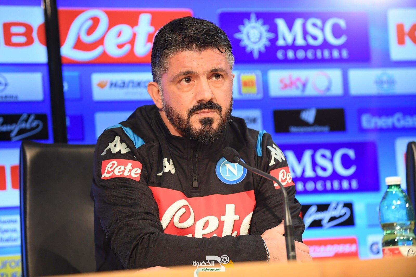 جينارو جاتوزو مدربا جديدا لفوزي غولام في نابولي الإيطالي 28