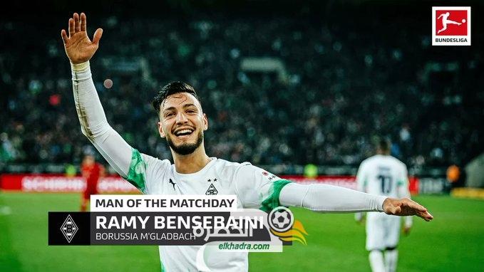 بن سبعيني أفضل لاعب في الجولة الرابعة عشر من الدوري الألماني 26