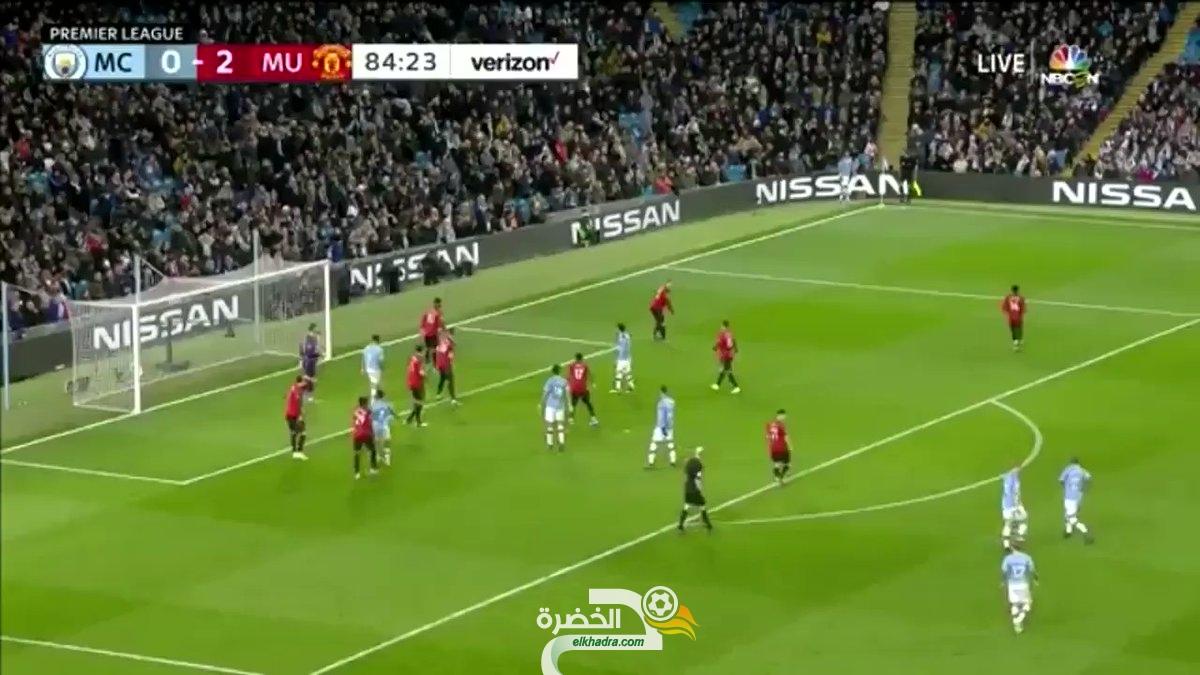 فيديو : تمريرة رياض محرز الحاسمة اليوم ضد مانشستر يونايتد 32
