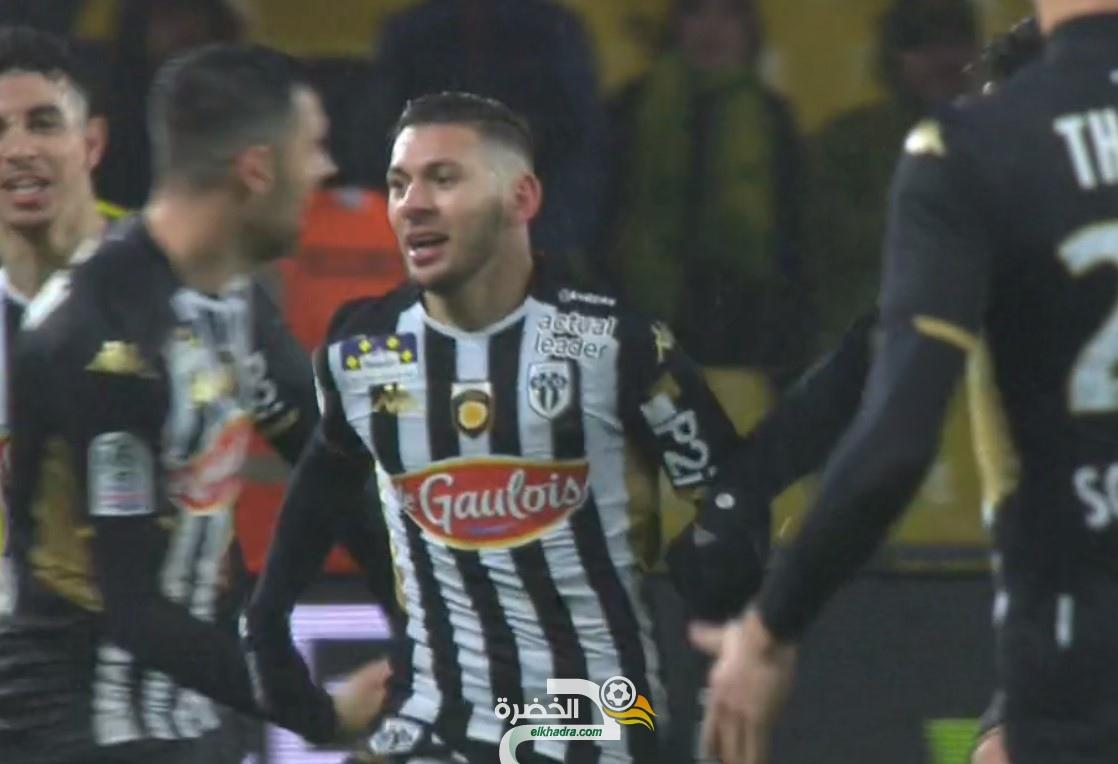 فيديو : هدف الجزائري فريد الملالي اليوم مع انجيه ضد نانت 29