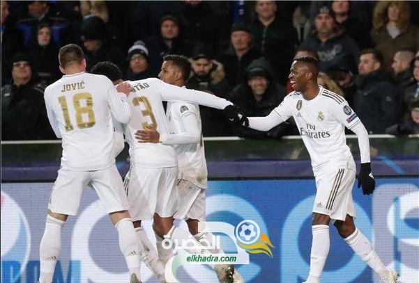 ريال مدريد يعود بفوز كبير من بلجيكا على حساب كلوب بروج 26