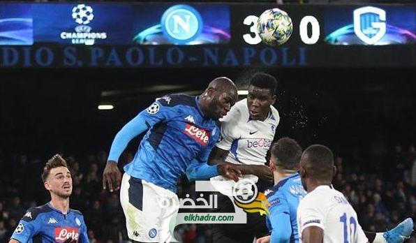 نابولي يتأهل لثمن نهائي دور الـ 16 لبطولة دوري ابطال اوروبا 29