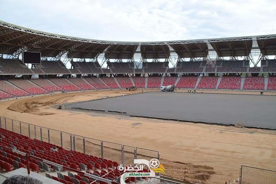 صور من ملعب وهران الجديد اليوم 27