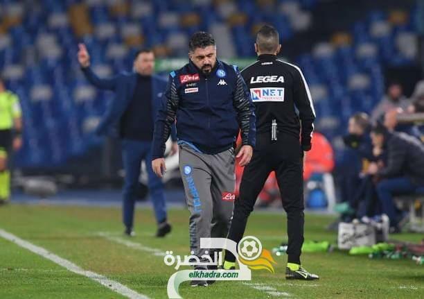 نابولي يسقط على أرضه أمام بارما في أول مباراة له تحت قيادة غاتوزو 25