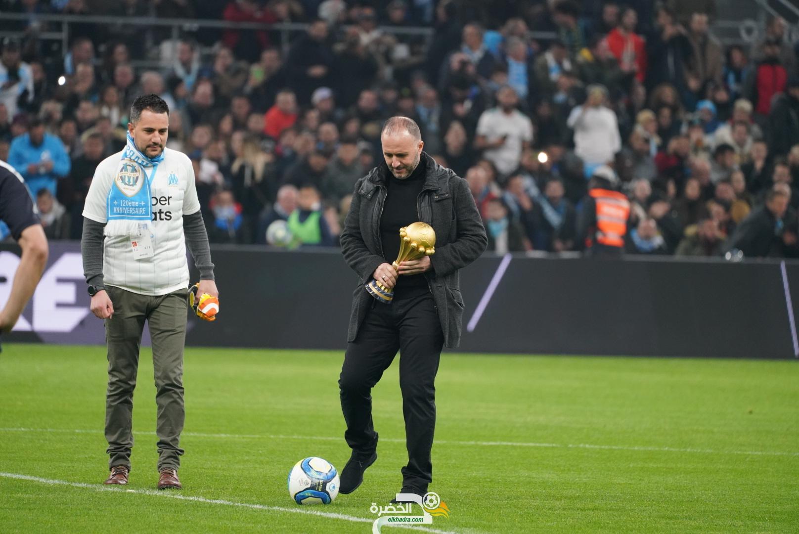 جمال بلماضي يعطي ضربة البداية في مباراة مرسيليا و بوردو 27