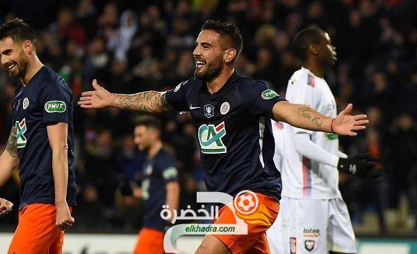 الجزائري ديلور يسجل ثنائية في كأس فرنسا! 31