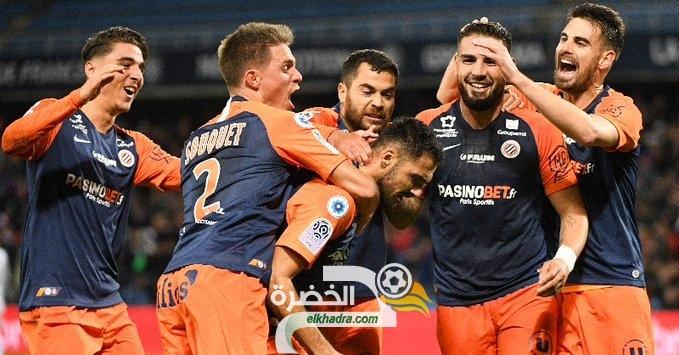اندي ديلور يقود مونبولييه للفوز على ديجون في الدوري الفرنسي 35