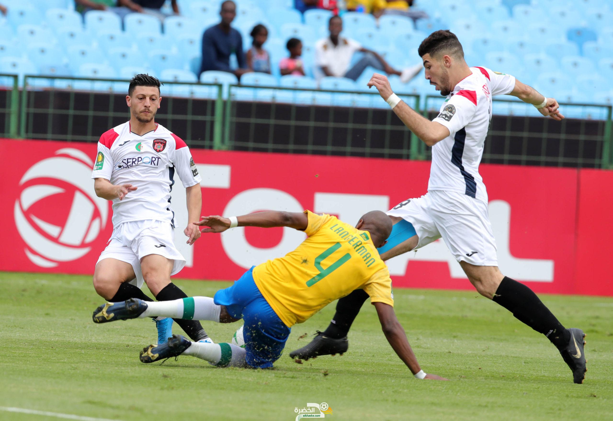 اتحاد الجزائر ينهزم أمام مضيفه ماميلودي صن داونز الجنوب إفريقي 31