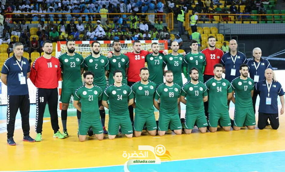 """""""كوفيد 19"""" : الاتحادية الجزائرية لكرة اليد توقف تربص المنتخب الوطني 24"""