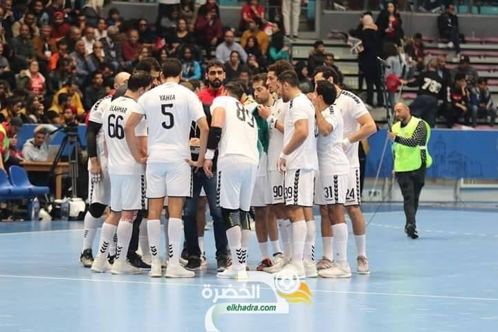 المنتخب المصري لكرة اليد يتوج بلقب بطولة كأس الأمم الأفريقية 33