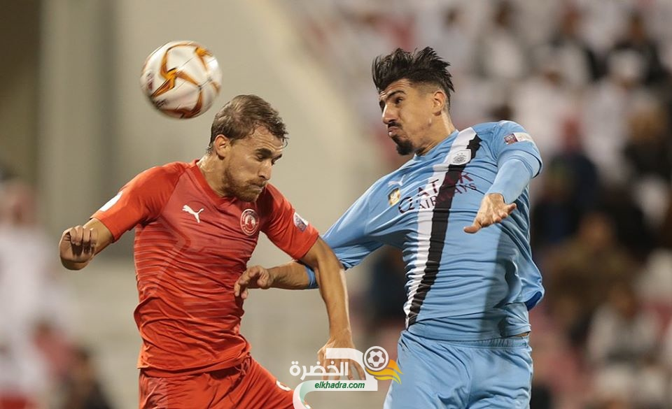 هدف بغداد بونجاح الثاني في مرمى العربي بدوري نجوم قطر 31