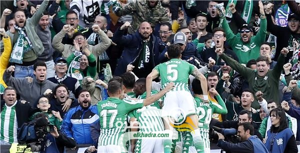 ريال بيتيس يفوز على ضيفه ريال سوسييداد بثلاثية دون رد 29