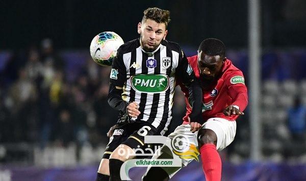 الجزائري فريد الملالي يسجل ثنائية في كأس فرنسا! 25