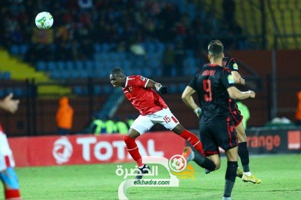 بمشاركة كريم عريبي .. النجم الساحلي ينهزم امام الأهلي المصري 27