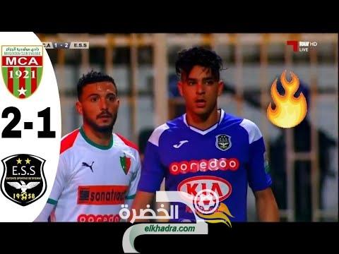 ملخص و اهداف مباراة مولودية الجزائر ضد وفاق سطيف 1-2 MCA VS ESS مباراة نارية 26