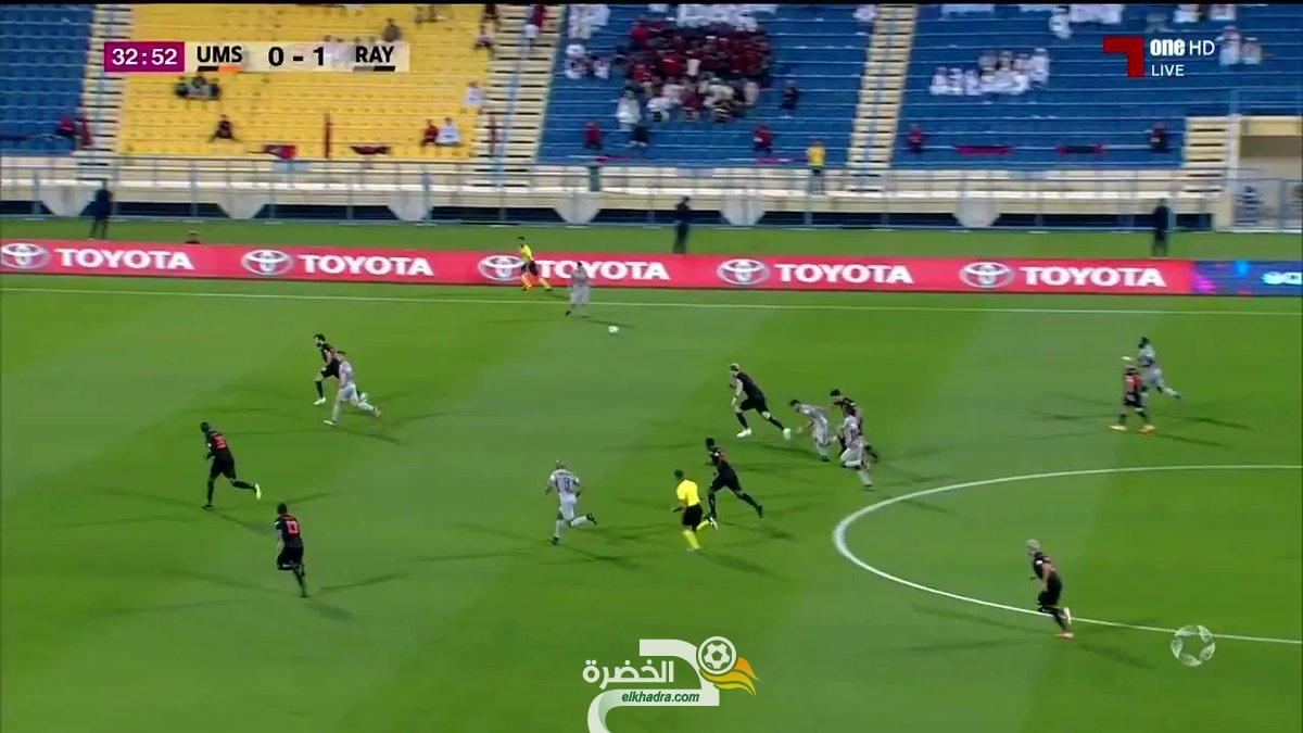 بالفيديو.. هدف ياسين براهيمي اليوم أمام أم صلال 24