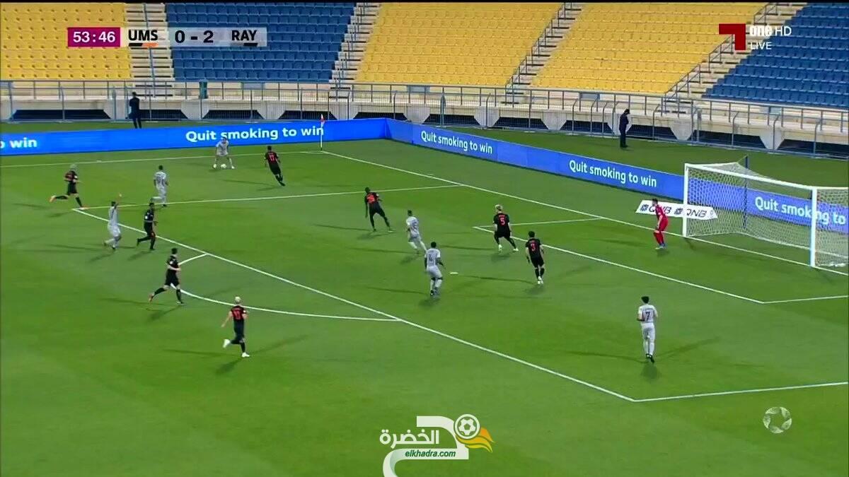 بالفيديو.. هدف ياسين براهيمي الثاني اليوم ضد ام صلال 27