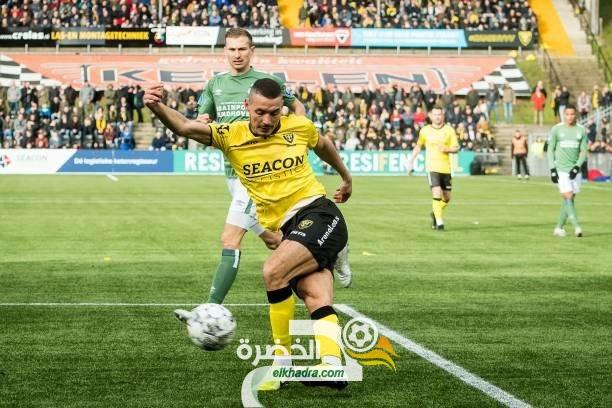 اسامة درفلو هداف ويقود ناديه فينيلو للفوز على فارفيك في الدوري الهولندي 36