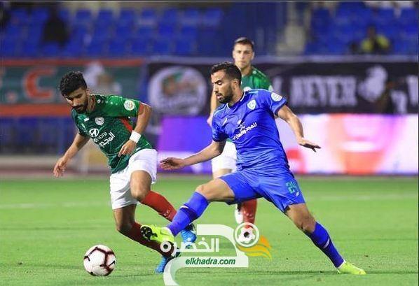 ضمك السعودي يضم رسميا الجزائري إبراهيم الشنيحي 28