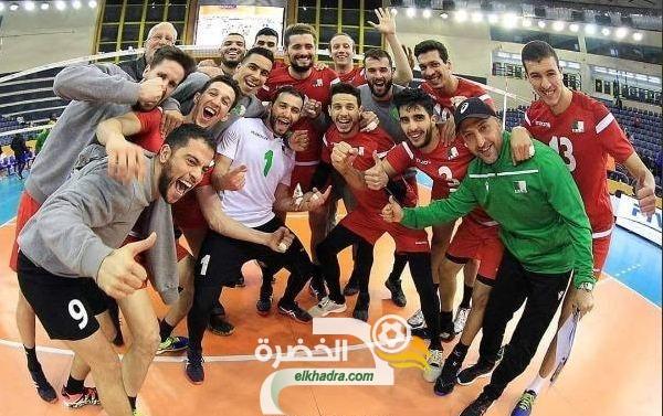 منتخب الجزائر لكرة الطائرة رجال يفوز على الكاميرون بنتيجة أشواط 3-0 30