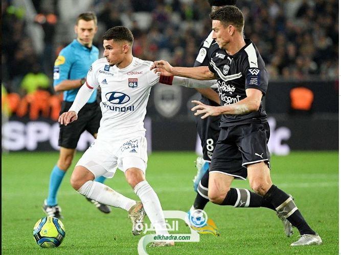 الدوري الفرنسي : أولمبيك ليون يحقق الفوز أمام مستضيفه بوردو 34