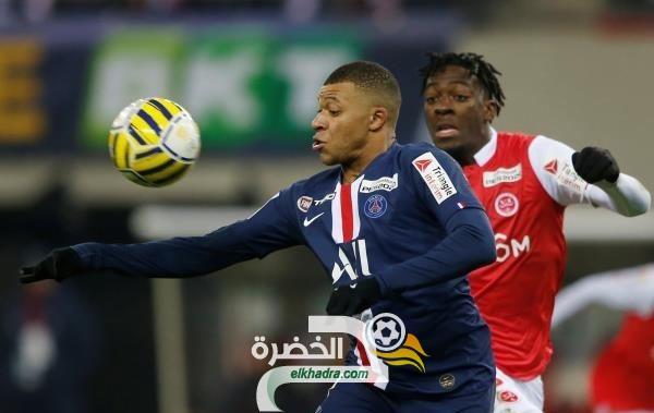 باريس سان جيرمان يفوز على مضيفه ريمس في كأس رابطة المحترفين الفرنسية 32