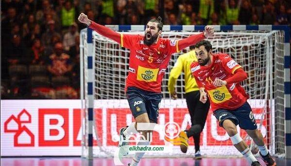 المنتخب الإسباني لكرة اليد يتوج بلقب كأس الأمم الأوروبية 107
