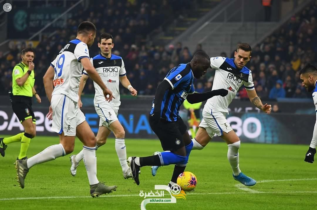 الدوري الإيطالي : أتالانتا يفرض التعادل على الإنتير 28