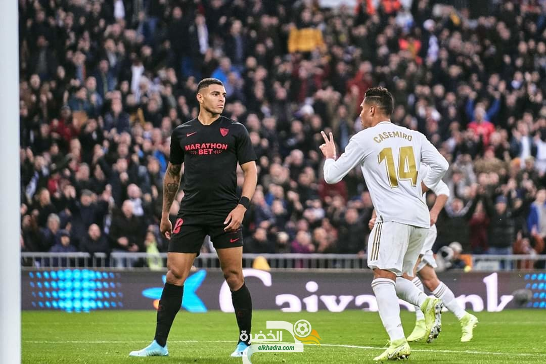 الدوري الإسباني : ريال مدريد يحسم القمة أمام إشبيلية 27