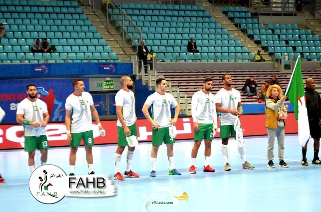 المنتخب الوطني لكرة اليد ينهزم أمام تونس و يواجه مصر في نصف النهائي 96