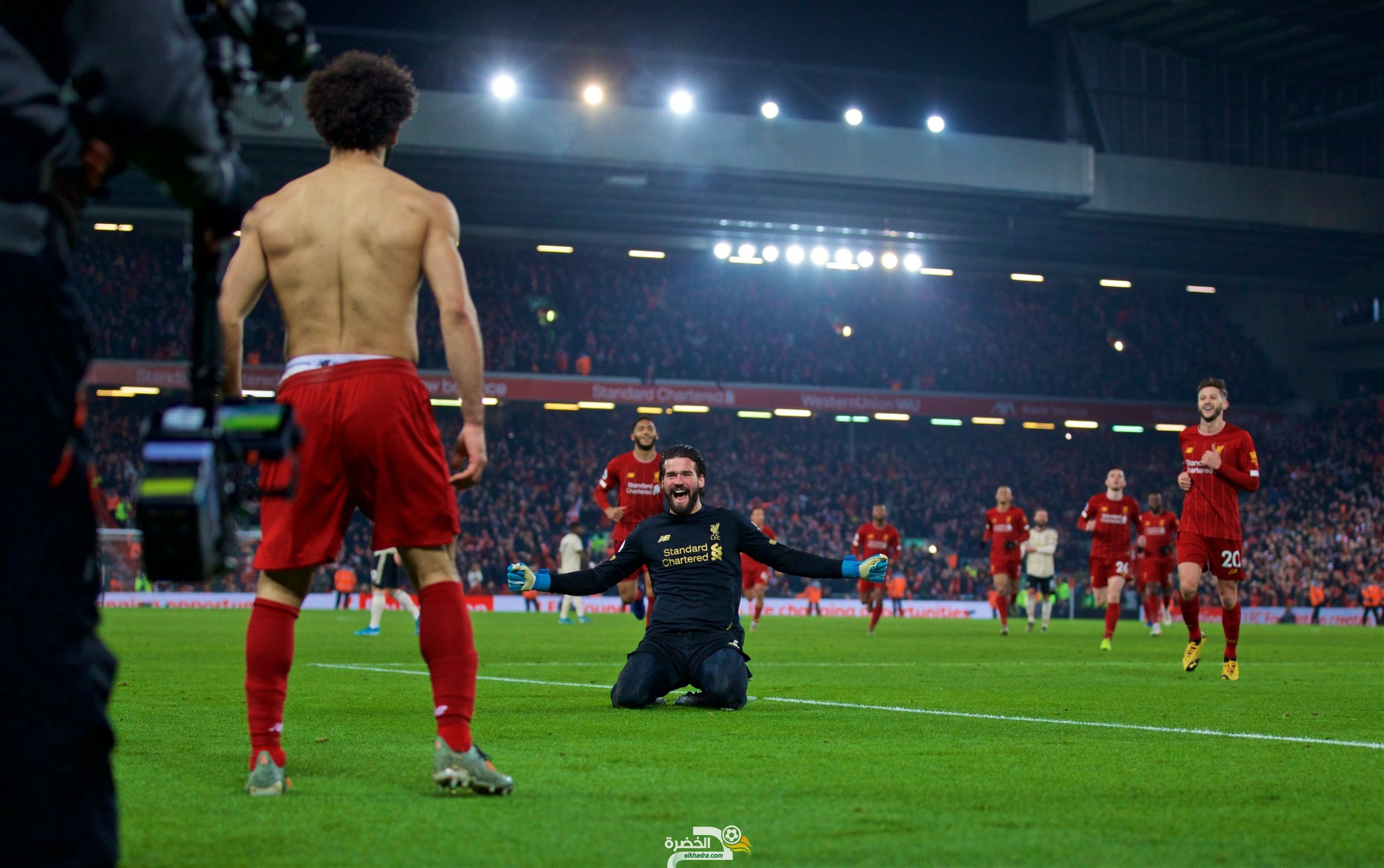ليفربول يفوز على مانشستر يونايتد في ديربي إنجلترا 25